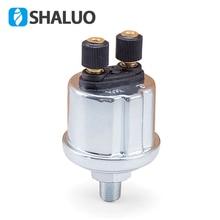 1/8NPT VDO Датчик давления масла от 0 до 10 бар дизель-генератор часть 10 мм нержавеющая вилка команды сигнализации датчик давления