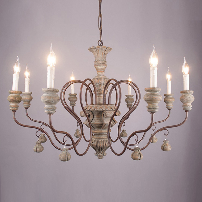 Vintage Resin Chandelier For Living Room Bedroom Home Decor Chandeliers Lighting Led Avize Lustre Para Sala Candelabros Lustres