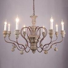 Lustre vintage en résine pour salon chambre décor à la maison lustres éclairage led avize lustre para sala candelabros lustres