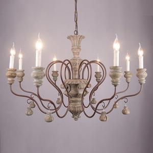 Image 1 - vintage resin chandelier for living room bedroom home decor chandeliers lighting led avize lustre para sala candelabros lustres