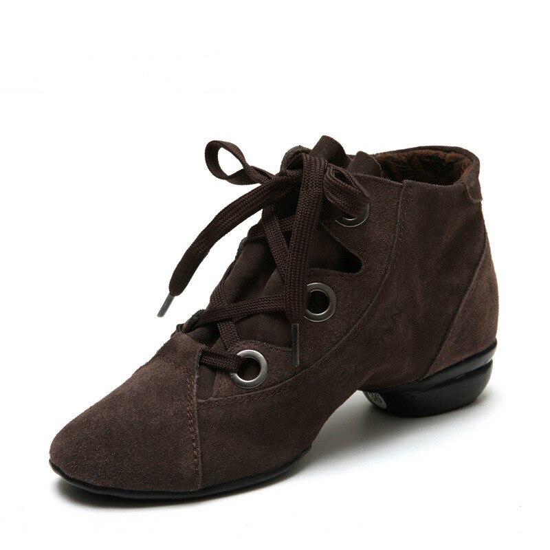 Chaussures carrées pour femmes chaussures de danse printemps été semelles souples chaussures de danse modernes nouvelles chaussures de Jazz