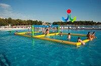 2018 герметичность надувные поле волейбольная площадка, надувной пляжный Velleyball поле командных видов спорта и развлечения