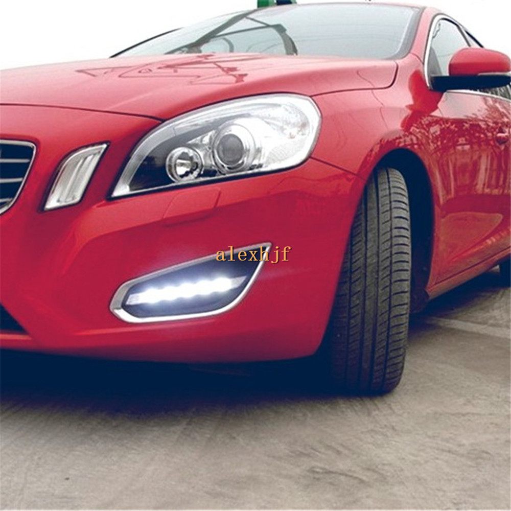 Yeats Led Daytime Running Lights Drl Led Front Bumper Fog: Yeats LED Daytime Running Lights DRL Case For Volvo S60