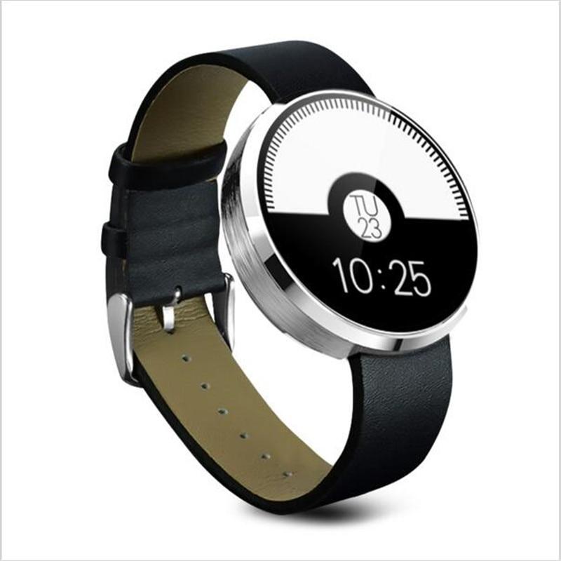 imágenes para 2017 nuevo bluetooth smartwatches dm 360 smart watch para ios y Teléfono Móvil de Andriod con pulsómetro bluetooth A9 PK W51