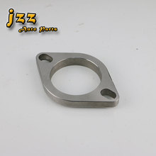 JZZ universal stainless steel flange for muffler car 51mm/63mm/76mm