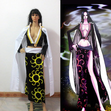Japanese Anime One Piece Boa Hancock Cosplay Costume Halloween Dress Custom Made Free Shipping
