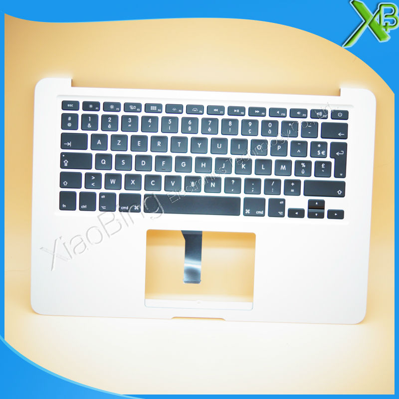 New TopCase with AZERTY FR French Keyboard for MacBook Air 13.3 A1466 2013-2015 years brand new azerty fr french keyboard backlight backlit 100pcs keyboard screws for macbook pro 15 4 a1286 2009 2012 years