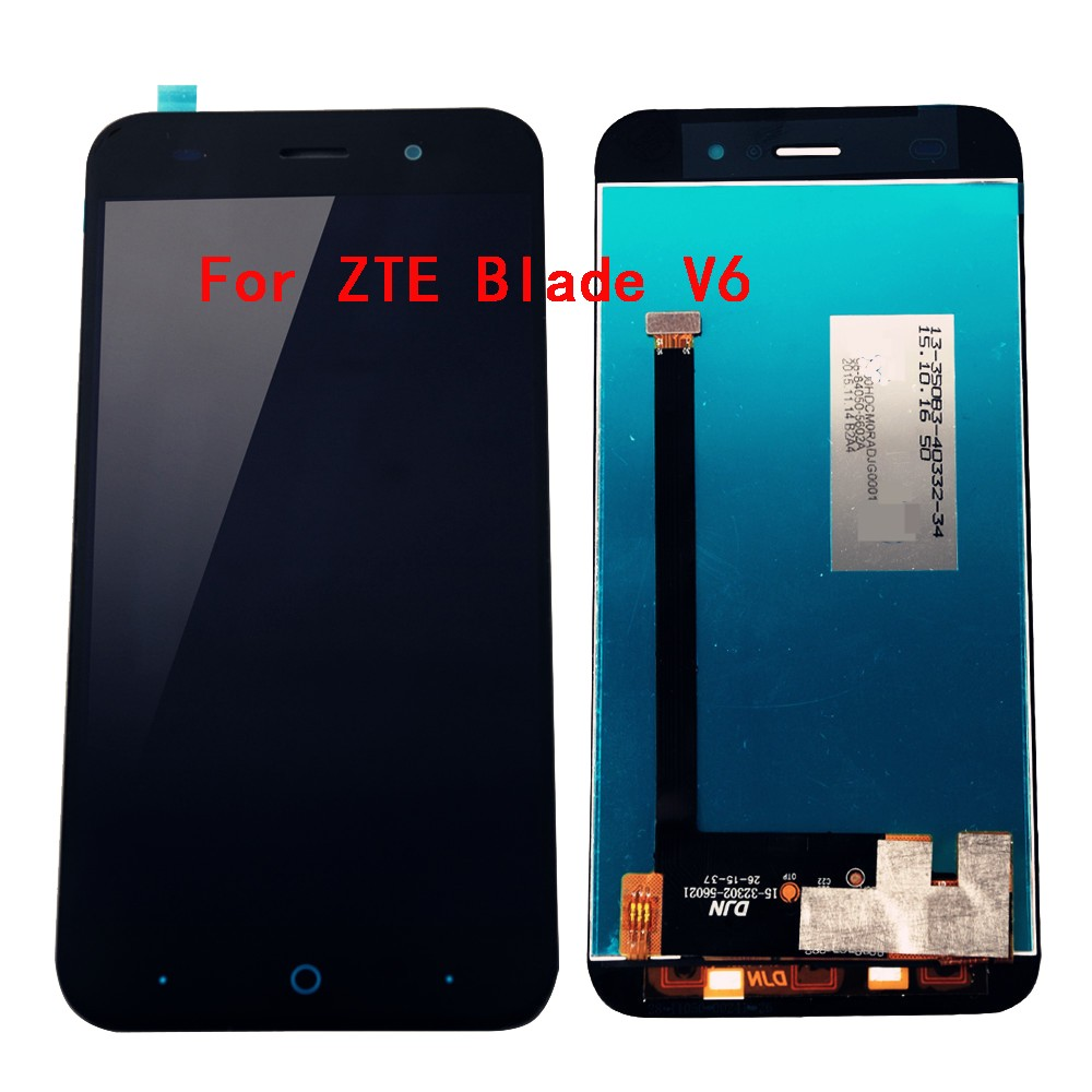 5 0 inch Black Full LCD DIsplay Touch Screen Digitizer Assembly Replacement For ZTE Blade X7