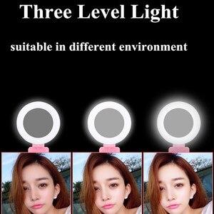 Image 2 - 1,2 m 1,7 m Erweiterbar live Stativ Selfie Stick LED Ring licht Stehen 4 in 1 Mit Einbeinstativ Telefon Montieren für iPhone Android SmartPhone