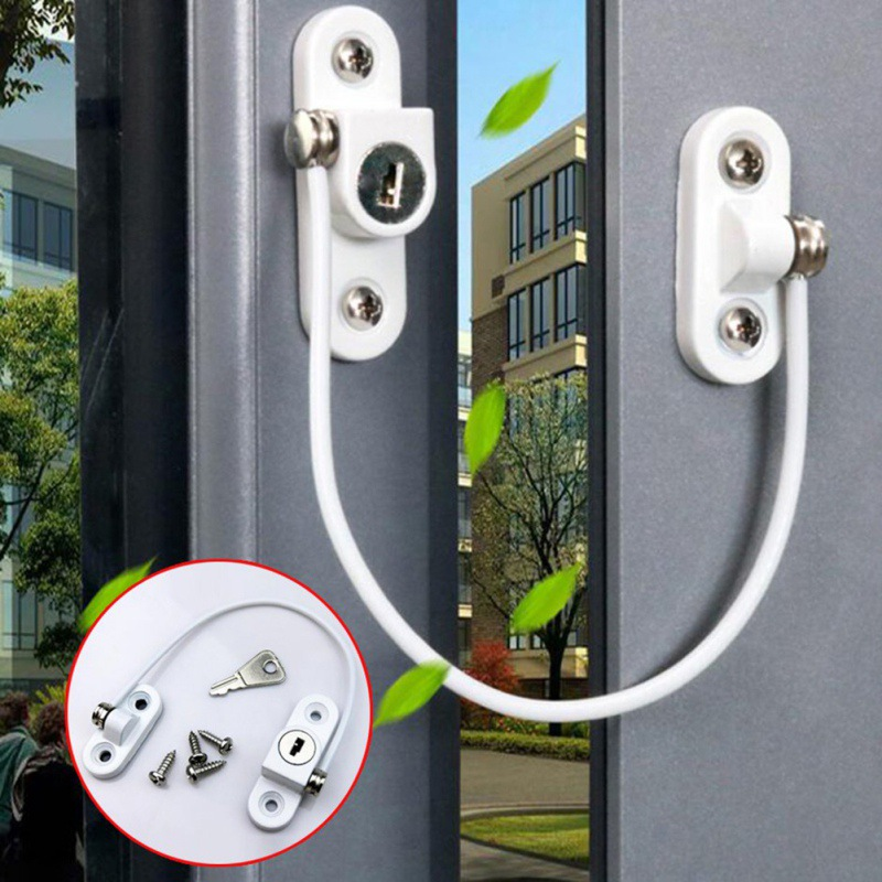 Door Window Security Lock Children Protection...