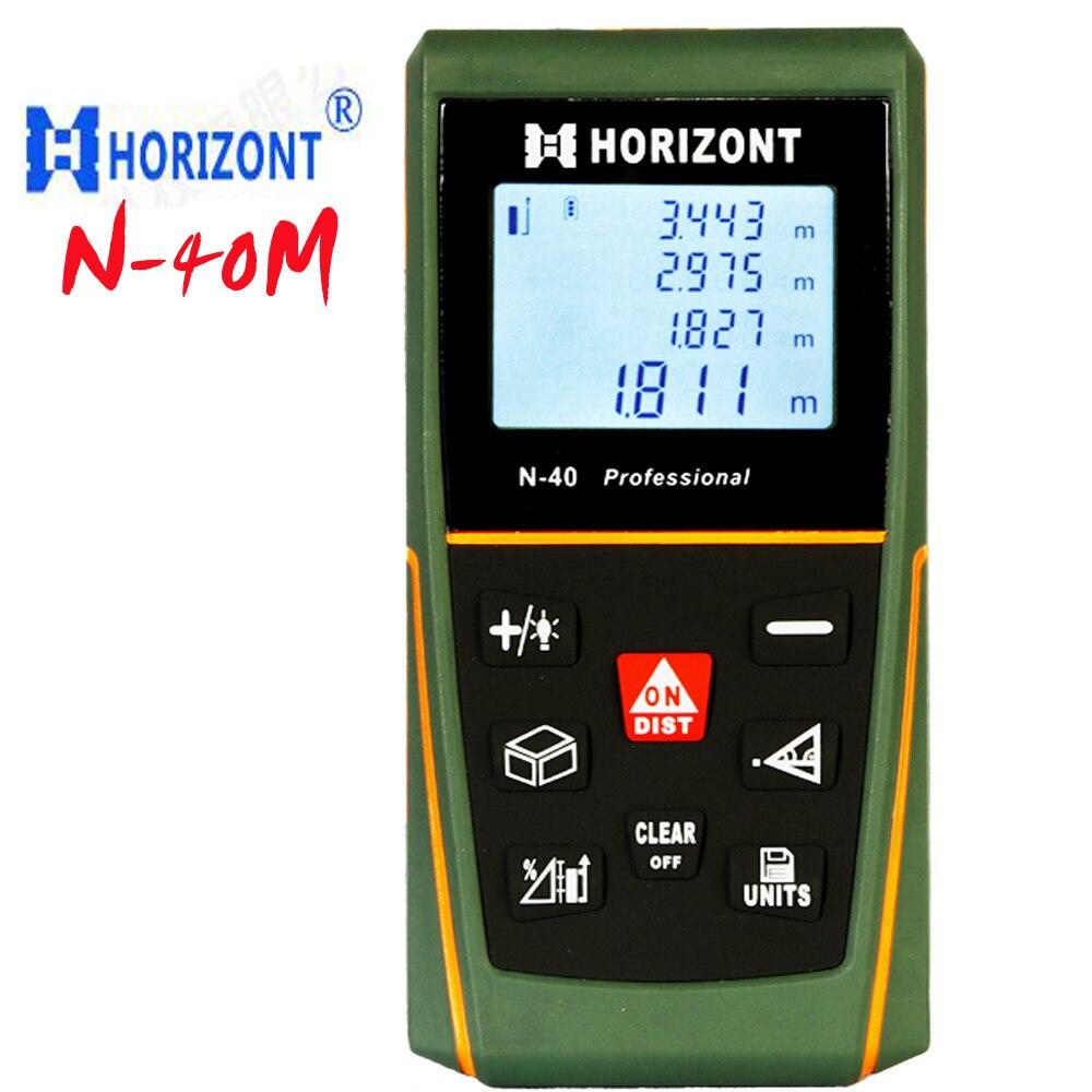 ФОТО N-40 laser range finder, handheld rangefinder ,Professional Handheld rangefinder 40m Pythagorean test tool Electronic ruler