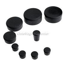 SU 9pcs Black Rubber Fairing Plugs Motorcycle Accessories Replaceable Parts Rubber Frame Plugs for GSX R 1000 2005 2006 K5