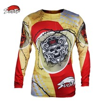 SUOTF Boxing fitness workout yellow skull fear fierce fighting Muay Thai jaco mma sweatshirt boxing suit