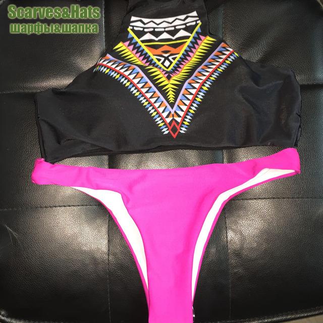 2017 Sexy bikini Sets Swimwear women's Brazilian swimsuit  bathing suit mini string biquini thong swimsuit