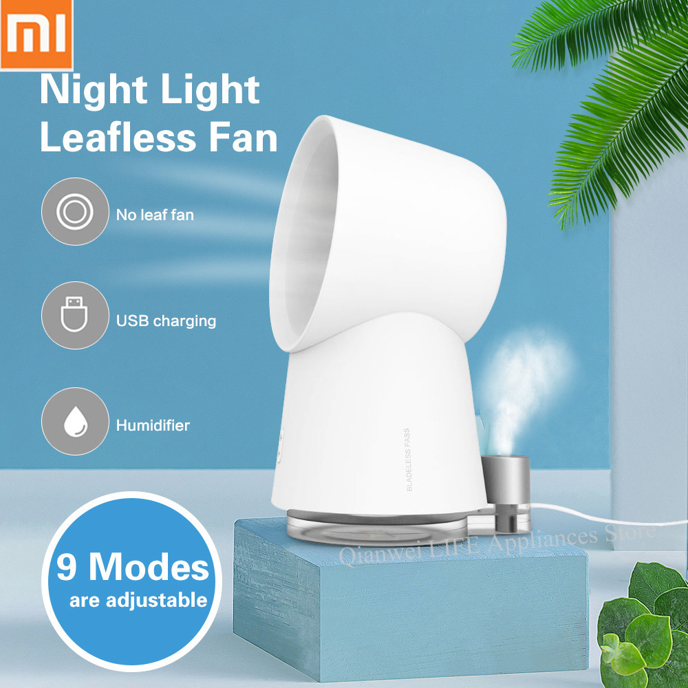 New Xiaomi Youpin Happy Life 3 In 1 Mini Cooling Fan