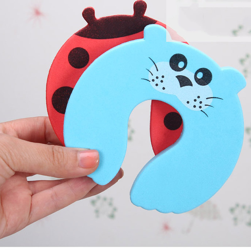 2pcs Baby Toys Safety Guard Finger Protect Child Proofing Door Stoppers Soft Cute Cartoon Nesting Toys for Kids Random Color2pcs Baby Toys Safety Guard Finger Protect Child Proofing Door Stoppers Soft Cute Cartoon Nesting Toys for Kids Random Color