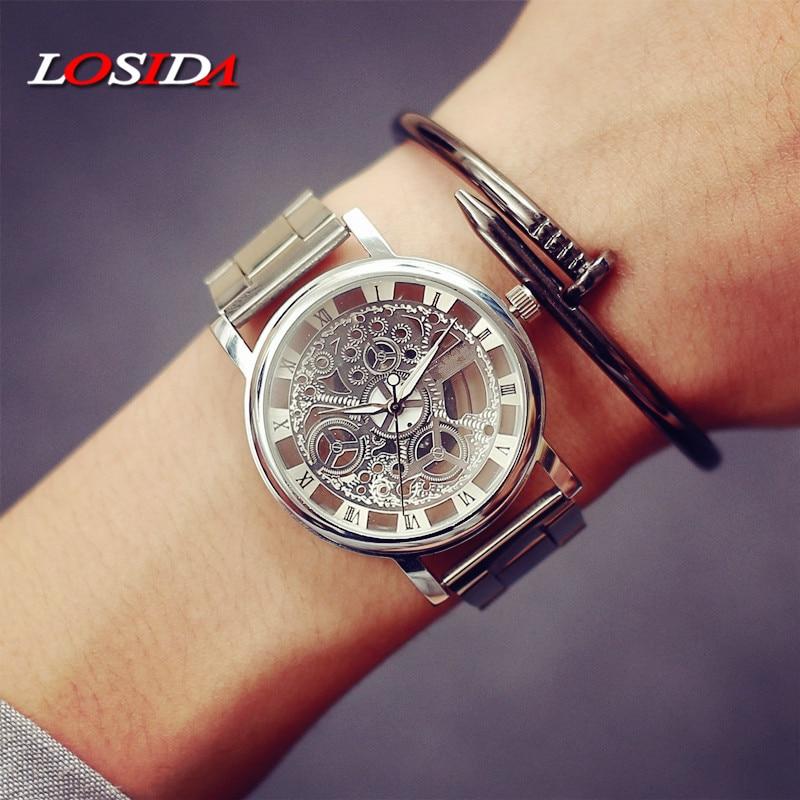 시계 여성 Losida 브랜드 럭셔리 패션 캐주얼 석영 - 남성 시계 - 사진 4