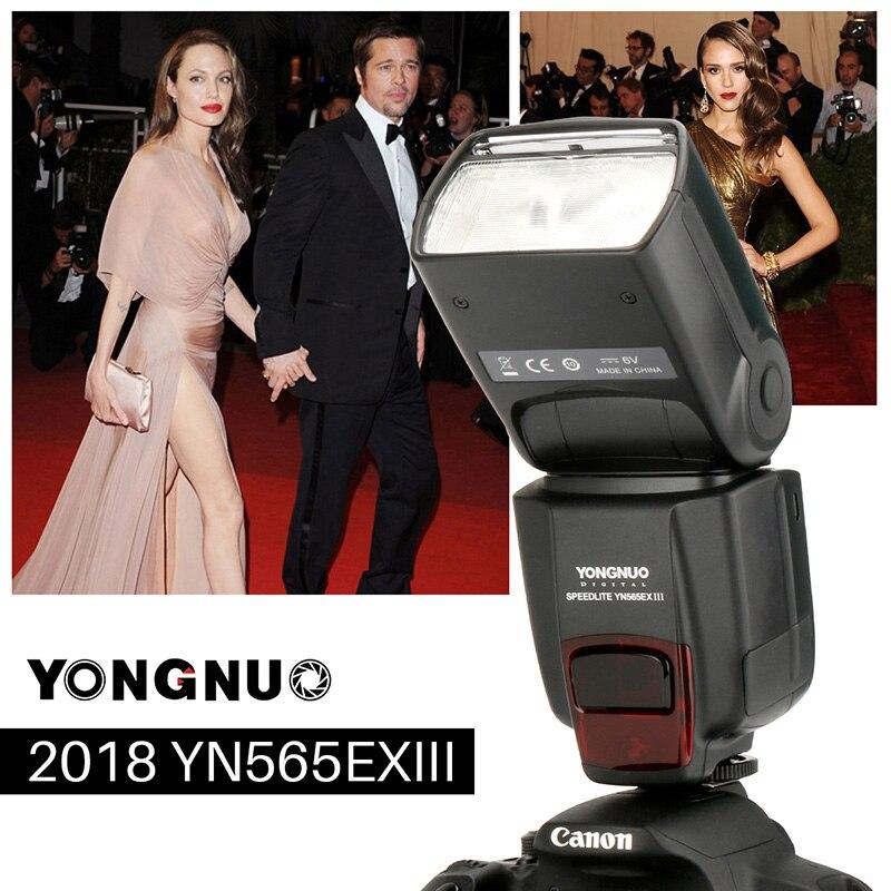 YOUNNUO YN565EX III ttl Flash Скорость lite Беспроводной 1/8000 s ведомый режим вспышки света Высокое Скорость для Canon EOS Поддержка прошивки USB