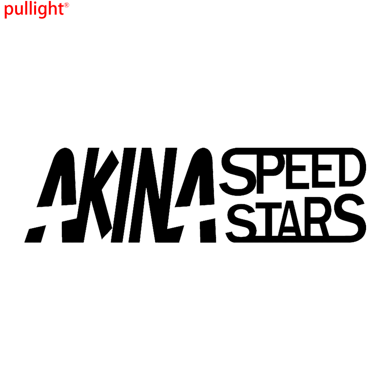AKINA SPEED STARS Vinyl Sticker Decal Funny JDM Initial D Lowered Racing  car sticker car