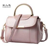 New Tassel Design Women PU Leather Crossbody Messenger Bag Small Sling Shoulder Bags Fold Closure Handbag