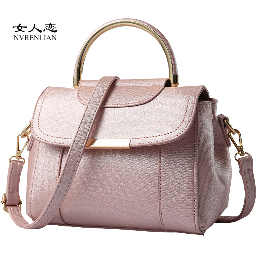 Hot Women Messenger Bags High Quality PU Leather Famous Brands Design Women Shoulder Bag Luxury Classical Women Handbags