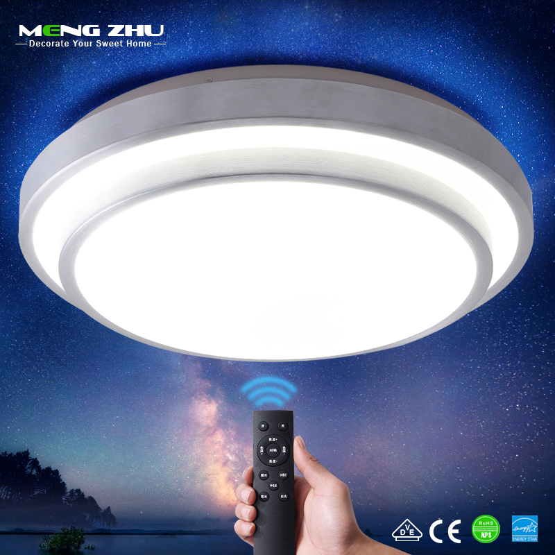 MENGZHU Modern LED Ceiling Lights Lighting Fixture Lamp Kitchen Living Room Bedroom Surface Mount Remote LED Ceiling