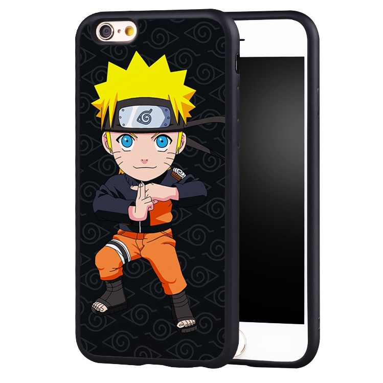 Cute Naruto Printed Phone Case For iPhone | Anime Crazy Store