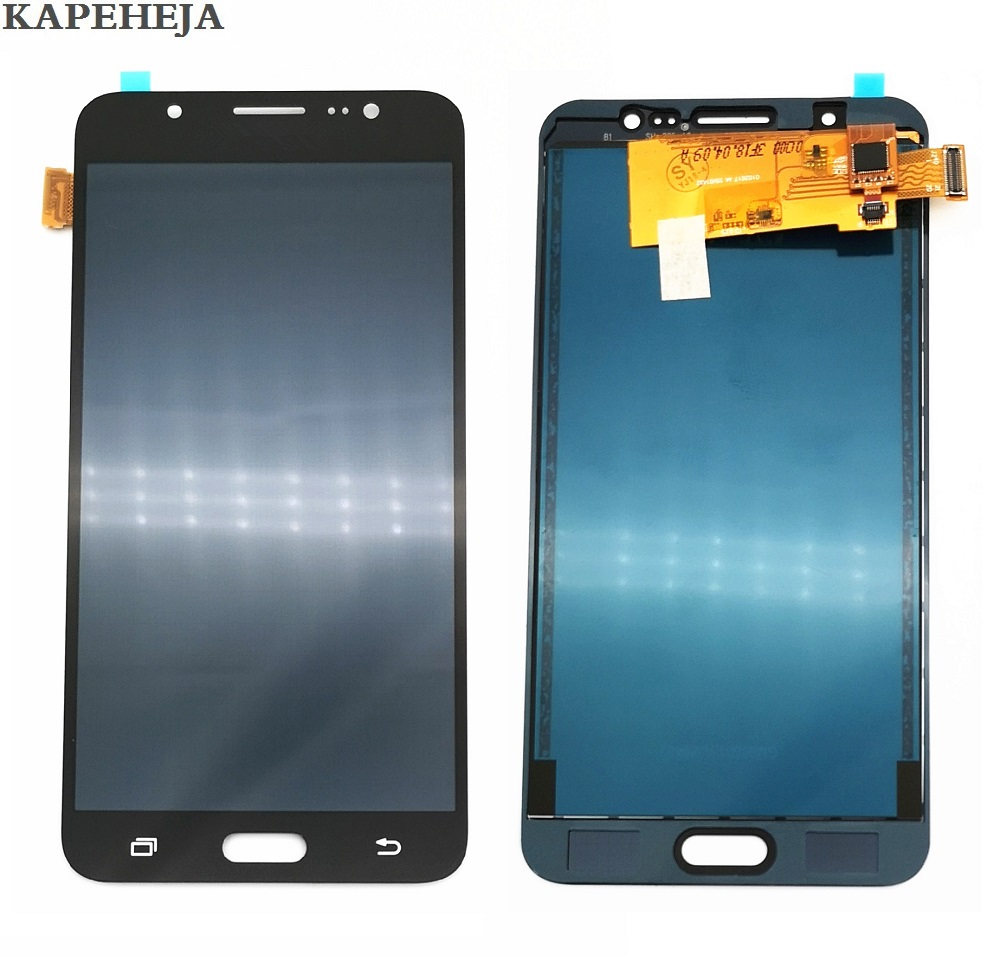 Can't adjust brightness LCD For Samsung Galaxy J7 2016 J710 J710F J710M J710H LCD Display Touch Screen Digitizer Assembly