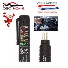 Лучший OBD2 автоматический тестер тормозной жидкости ручка для автомобиля DOT3/DOT4 Тормозная жидкость авто автомобильный инструмент для тестирования автомобильные аксессуары