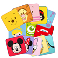 Soft Baby Towel Cotton Bibulous Face Towel For Kids High Quality Handkerchief For Children Cartoon Images Printed Hand Towel