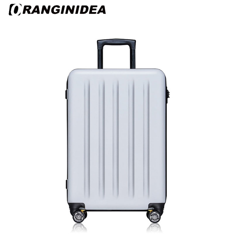 2022 inches Girl Trolley Case PC Students Ultra Light Travel Waterproof Rolling Luggage Spinner Suitcase Extension Boarding Box