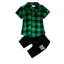 Summer Boys Girls Fashion Clothing Suits Baby Handsome T-shirt Short Pants 2Pcs/Sets 2018 Kids Clothes Sets Tracksuits недорого