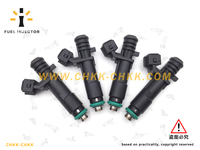 Car Styling Fuel Injector OEM 25186566 For Chevrolet Spark M300 Aveo T300 1 0 Petrol 4X