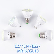 E27 LED Lamp 220V GU10 LED Bulb E14 Spotlight Bulb MR16 Lampada GU5.3 SMD 2835 bombillas Led GU 10 Home Spot Light B22 4W 6W 8W lampada de led lamp gu10 220v smd 2835 ampoule led spotlight gu 10 bombillas led bulbs ampolletas lampadas lamparas light spot