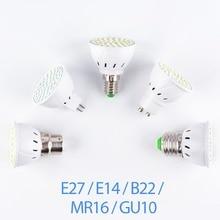 E27 LED Lamp 220V GU10 LED Bulb E14 Spotlight Bulb MR16 Lampada GU5.3 SMD 2835 bombillas Led GU 10 Home Spot Light B22 4W 6W 8W