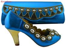 Doershow África mulher Sapato Combinando E Bolsa de Definir, Africa Conjuntos de Sapatos E Malas de Correspondência HJZ1-100