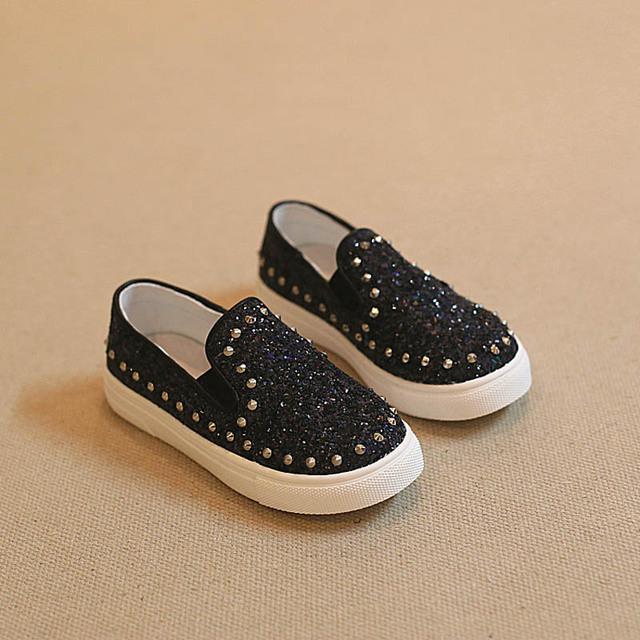 Wendywu 2017 primavera outono crianças pu shoes meninas black shoes crianças sandálias do parafuso prisioneiro de couro bebe shoes criança flats marca