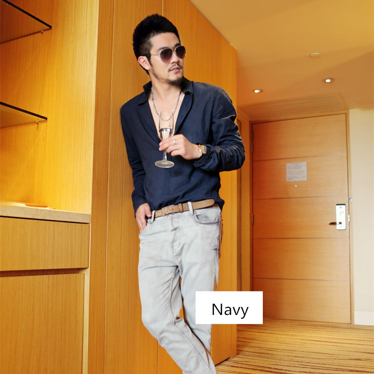 HTB1CzjjJVXXXXbcaXXXq6xXFXXXa - Shirts Swag Cotton Linen Men Shirt Long Sleeve Summer Style
