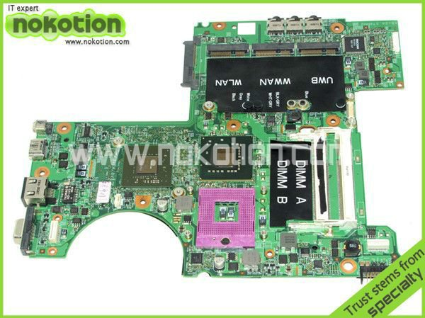 0N028D 48.4W101.031 laptop motherboard for DELL XPS M1530 PM965 NVIDIA GeForce 8600M GT DDR2 Mainboard Full Tested