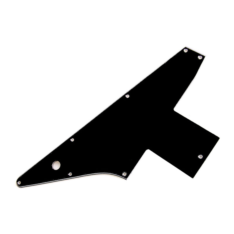 Hot Sell1 Pc Black 3Ply Guitar Pickguard For Fender Stratocaster Strat HH 2 Humbucker Pearl ...