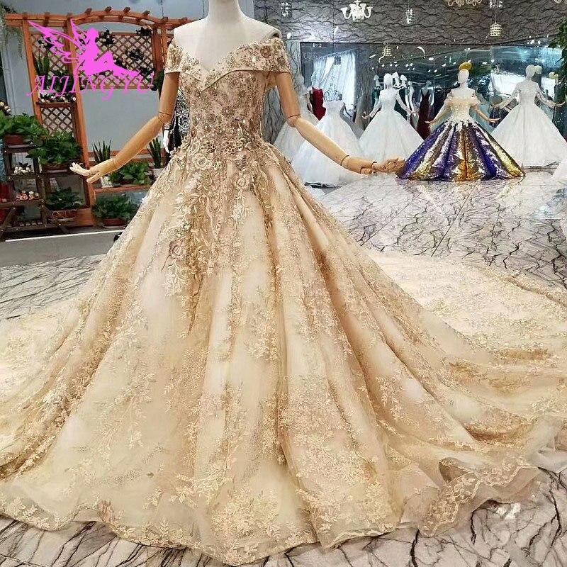 AIJINGYU свадебное платье Короткие Свадебные Платья Магазины Wed To Be кружевные белые свадебные платья цвета слоновой кости Свадебная одежда