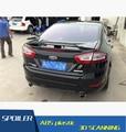 Para Ford Mondeo Asa Traseira Do Carro Spoiler ABS Material de Alta Qualidade Cor Cartilha Spoiler Spoiler Traseiro Para Ford Mondeo 2013-2015