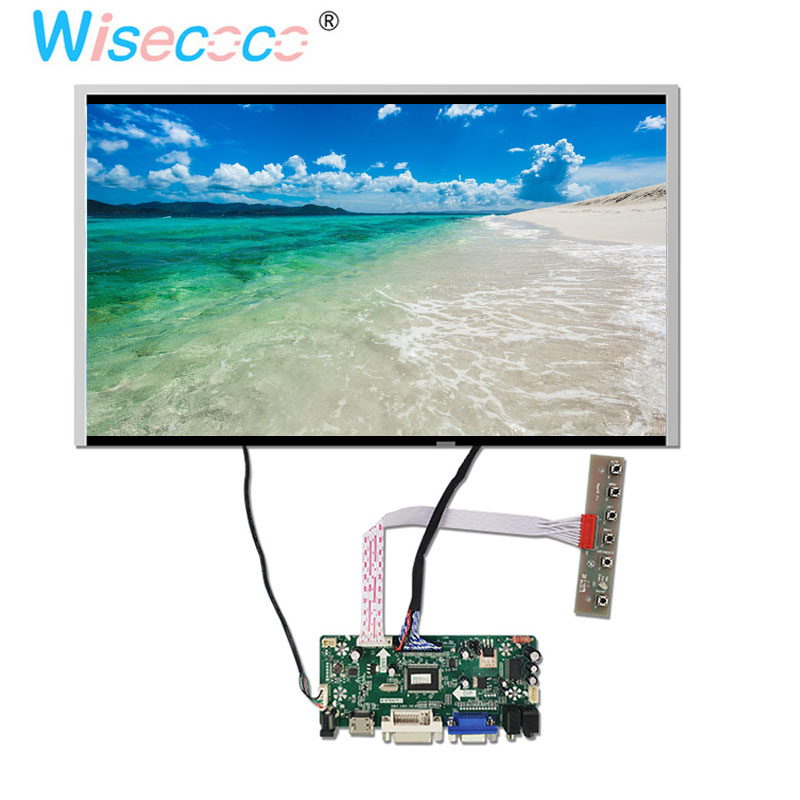 17.3 pouces 1920x1080 TFT LCD écran 60Hz 30 broches LVDS HDMI DVI Pc carte de pilote audio pour ordinateur portable PC Windows
