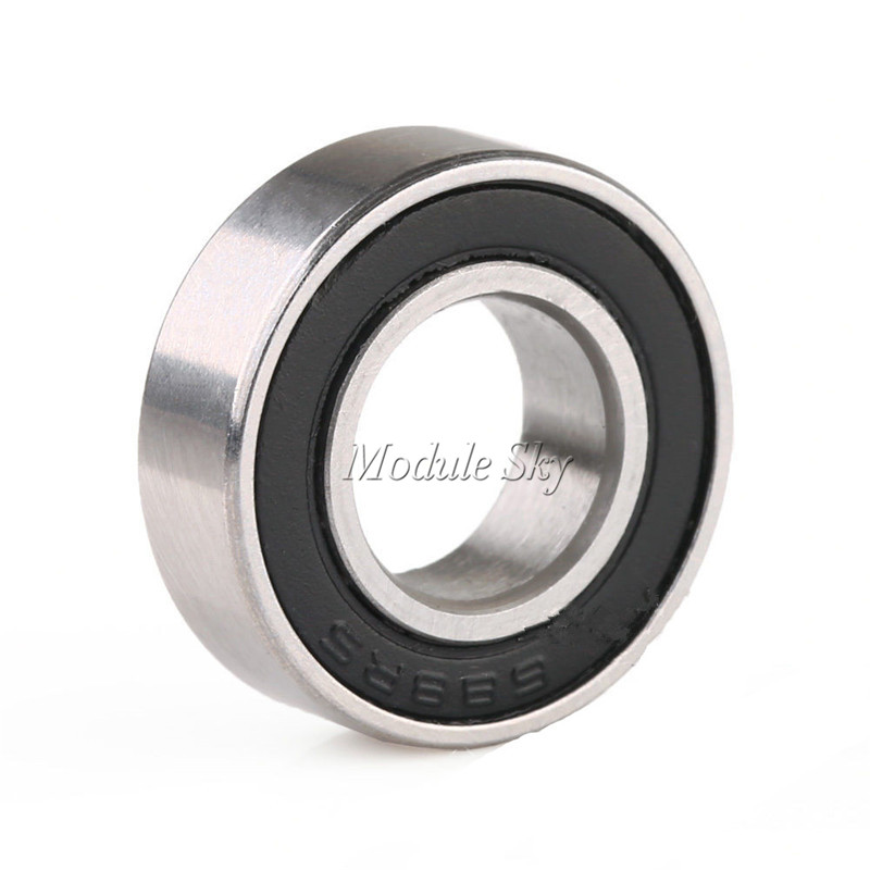 10 Bearing 688 RS Sealed 8 x 16 x 5 mm Metric Bearings
