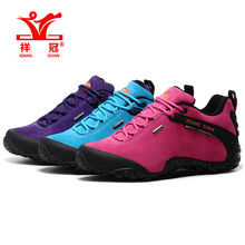Famous Brand Womens shoes sales Sports Outdoor Trekking Hiking Shoes Sneakers For Women Leather Climbing Mountain Shoes Woman