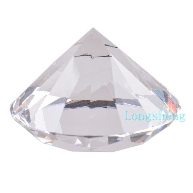 80mm Klare Künstliche Kristall Diamant Großhandel Glas Diamant ...