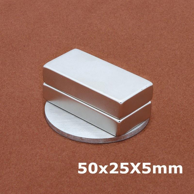 97298137467ec4 Kopen Goedkoop 1 Stks 50x25x5mm Neodymium Magneet Doos Verpakt ...