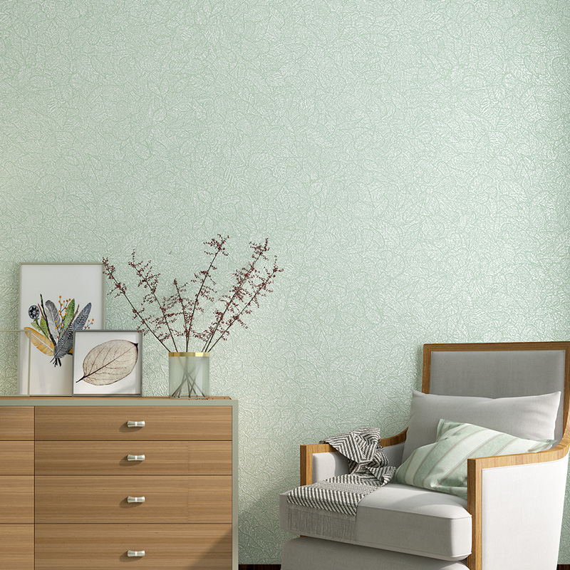 Nordic Style Non-woven Wallpaper Modern Abstract Leaves Plain Color Living Room Bedroom Study Home Decor Wall Paper For Walls 3D modern linen wall paper designs beige non woven 3d textured wallpaper plain solid color wall paper for living room bedroom decor