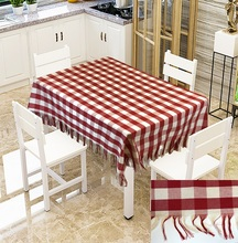 Christmas Decoration Table Cloth Waterproof Oilproof Tablecloth Fabic Table Cover Kitchen Supplies for Wedding Party Christmas