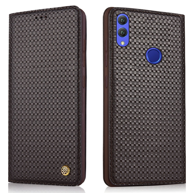 Luxury Original Brand Genuine Crocodile Leather Phone Cases for Huawei Honor 8X Case Fashion Phone Bags for Huawei Honor 8x Case